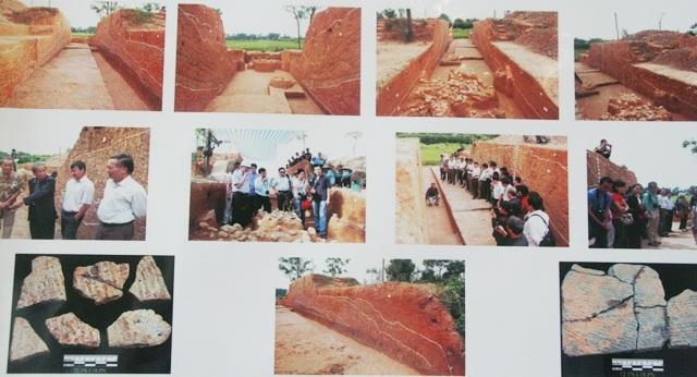 Các hoạt động khảo cổ ở thành cổ Cổ Loa đã giúp xác định được kỹ thuật đào hào xây thành đất