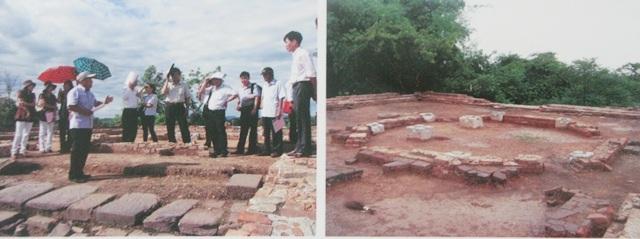 Khai quật Quan Tượng Đài - là đài thiên văn xưa của kinh đô triều Nguyễn tại Huế