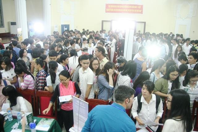 40 trường ĐH, CĐ Hoa Kỳ cùng triển lãm du học tại Huế - 3