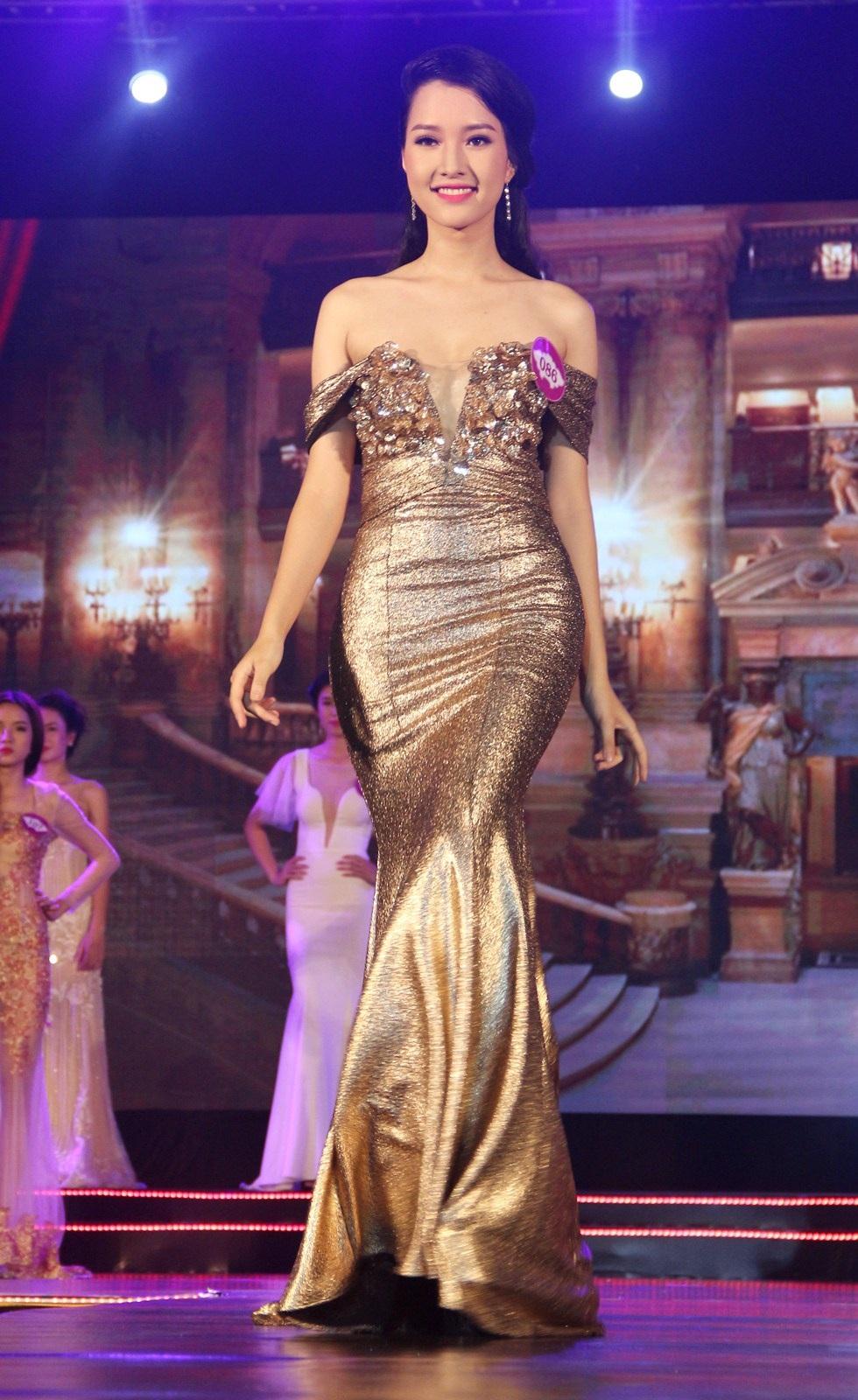Người đẹp thứ nhất Lê Trần Ngọc Trân ấn tượng qua các phần trình diễn áo dài - áo tắm - trang phục dạ hội. Cô còn đạt giải Người đẹp ảnh của cuộc thi