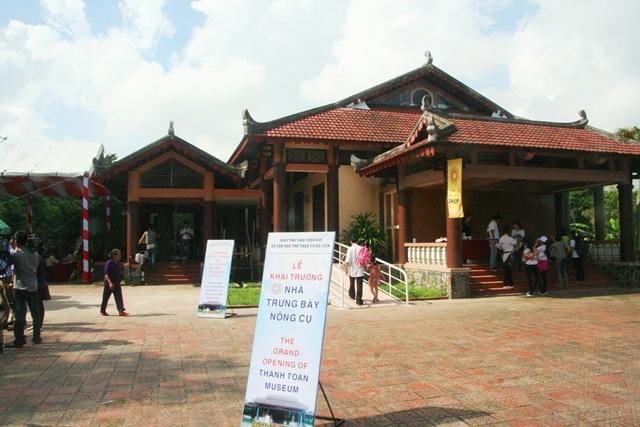 Nhà trưng bày nông cụ Thanh Toàn được ví như 1 bảo tàng nông cụ sống động
