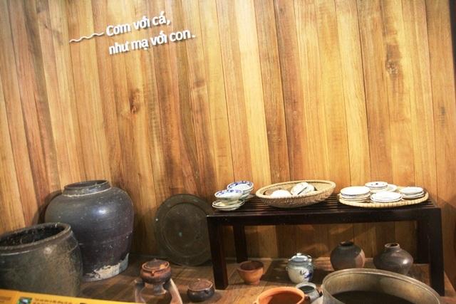 Nhiều không gian đậm chất làng quê như các món ăn hấp dẫn cho du khách