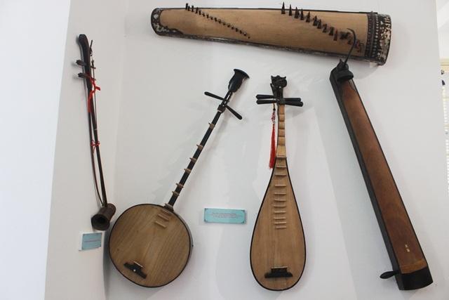 Các nhạc cụ Ca Huế