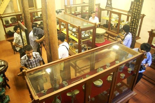 Bảo tàng tư nhân cổ vật triều Nguyễn của ông Trần Đình Sơn