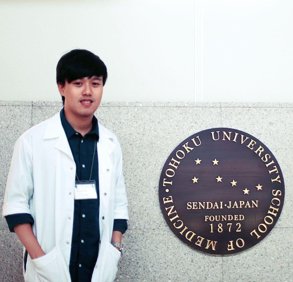 Chí Long tham gia khóa học tại trường ĐH Y Tohoku danh giá của Nhật Bản
