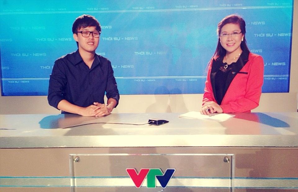 Long trong một lần tham gia chương trình của VTV