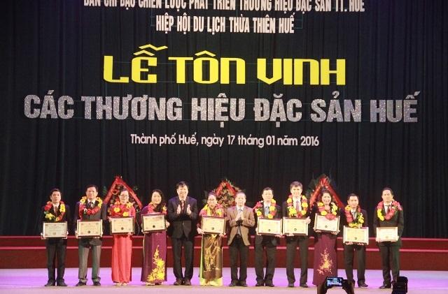 Các đặc sản nổi tiếng khác của Huế được tôn vinh tại buổi lễ