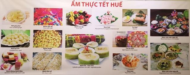 Nhiều loại ẩm thực rất đa dạng của đất cố đô ngày Tết