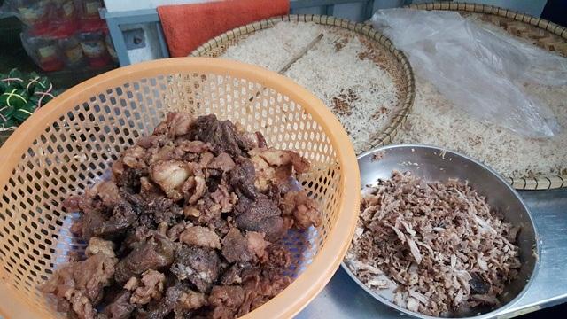 Thịt bò rim, một thành phẩn chủ đạo của Tré