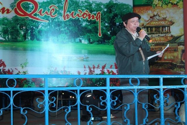 """Nhà thơ Ngô Minh với bài thơ quê hương đầy cảm xúc """"Về ăn Tết Huế"""""""