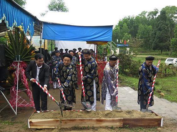 Khởi công trùng tu lăng vị chúa Nguyễn đầu tiên ở Huế - 4