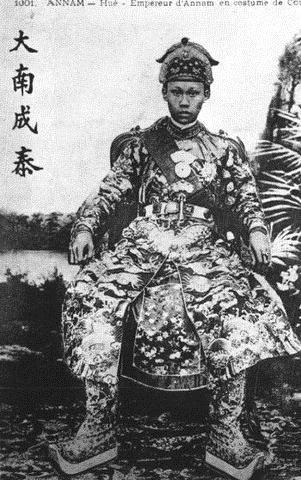 Vị vua yêu nước Thành Thái