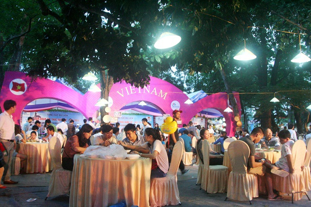 Liên hoan Ẩm thực Quốc tế - Huế lần I, 2014 diễn ra tại Festival Huế 2014