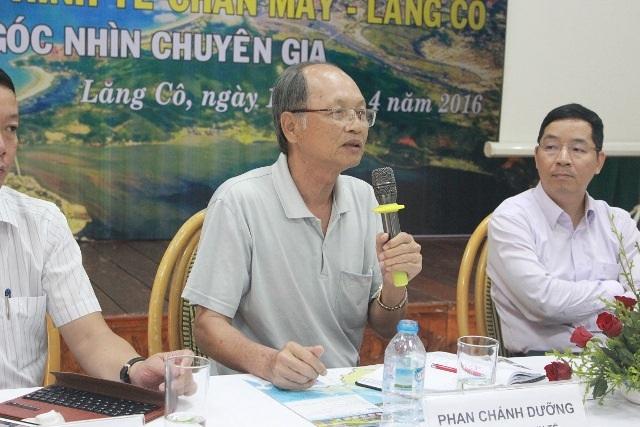 """Chuyên gia Phan Chánh Dưỡng """"hiến kế"""" để khu kinh tế Chân Mây – Lăng Cô phát triển"""