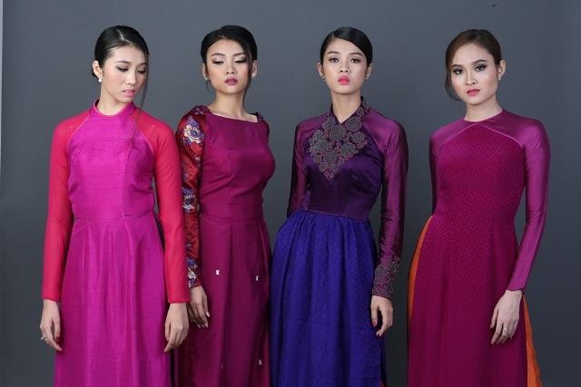 Bộ sưu tập áo dài mang tên Dáng xưa của NTK Lê Thanh Phương