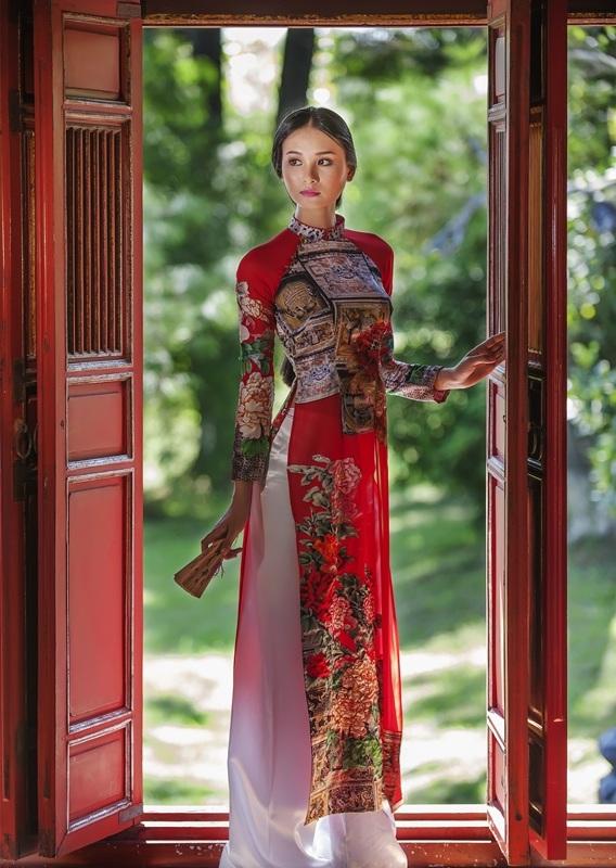 Về miền Hương Ngự xem áo dài Huế dịu dàng - 8
