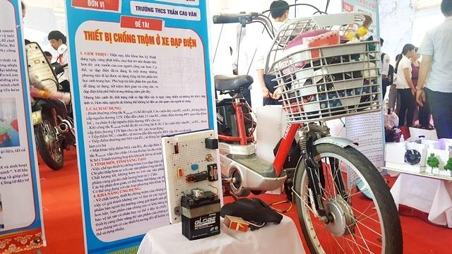 Thiết bị chống trộm ở xe đạp điện