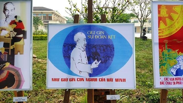 Triển lãm tranh cổ động về Chủ tịch Hồ Chí Minh - 4