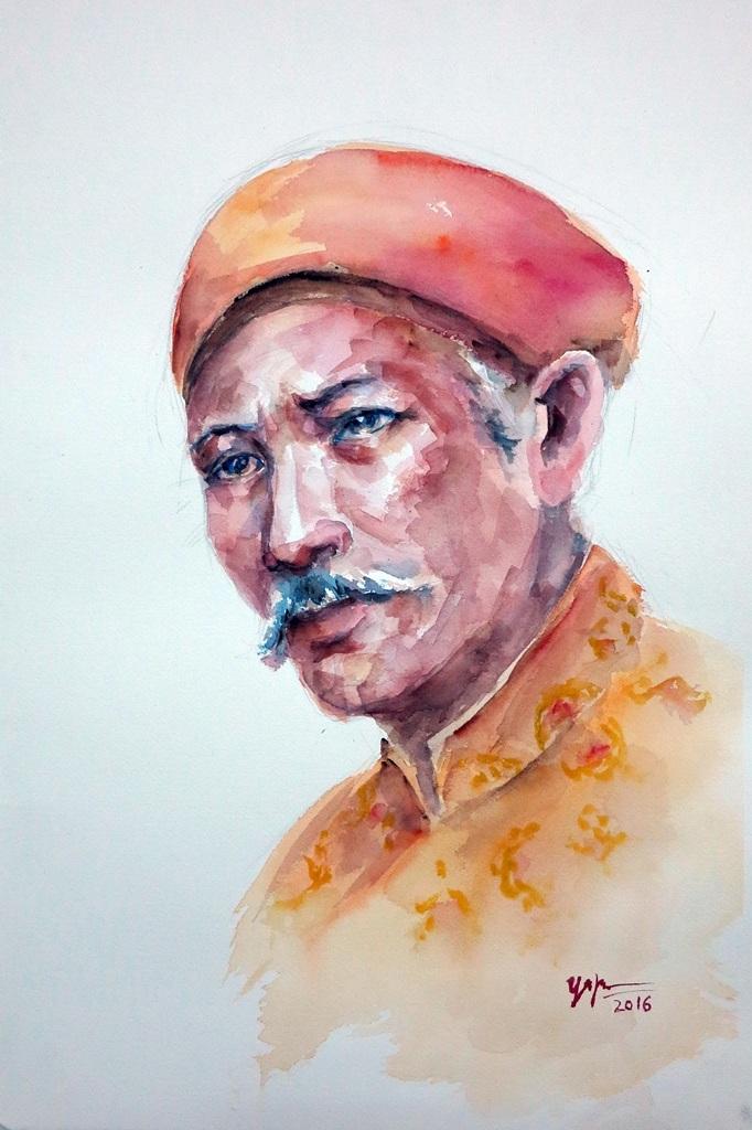 Chân dung vua Hàm Nghi – Võ Hoàng Nhựt – Việt Nam