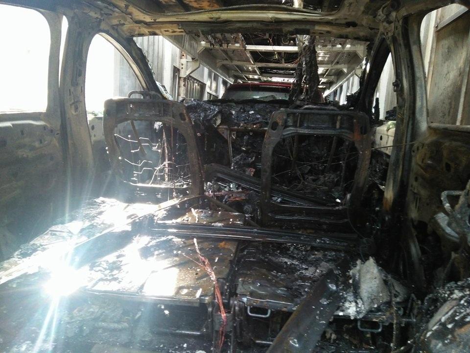 Có 3 ô tô con mới bị cháy rụi.