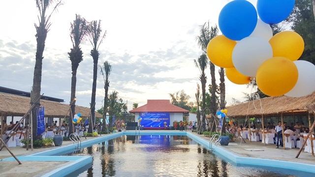 Khu nghỉ dưỡng sinh thái biển Bavico Beach Village Resort Thuận An vừa được khai trương thử nghiệm