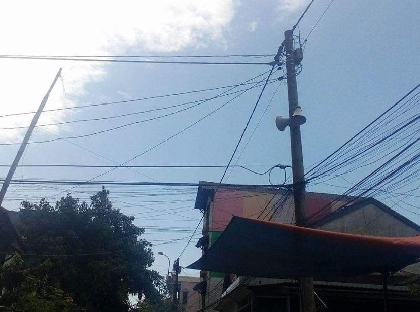 Có 28 loa phát thanh phát 1 ngày 3 lần trên địa bàn huyện Phú Lộc, tỉnh Thừa Thiên Huế (tiếp giáp TP Đà Nẵng) - ảnh: Văn Dinh