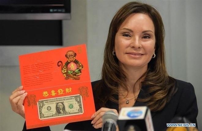 Tờ tiền mệnh giá 1 USD của Mỹ (ảnh China Daily)