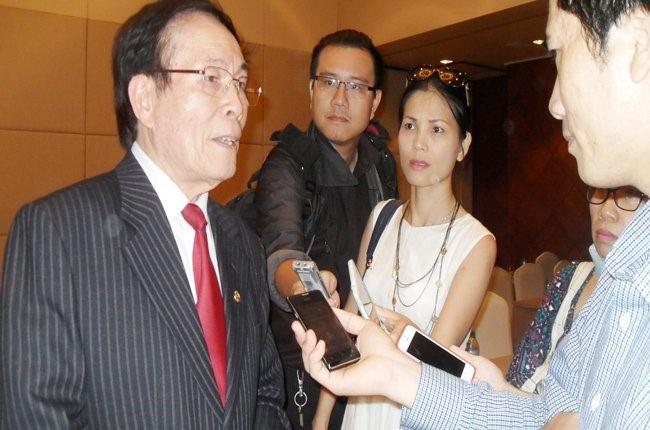 Ông Lê Thế Bảo, Chủ tịch Hiệp hội Chống hàng giả và Bảo vệ thương hiệu Việt Nam