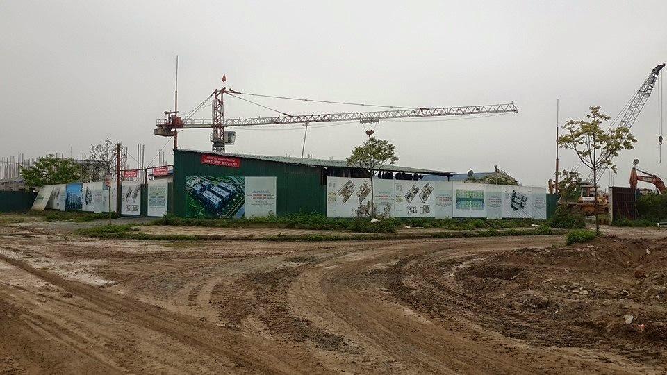 Một góc dự án Thanh Hà do Cienco 5 Land làm chủ đầu tư vừa được chuyển nhượng cho Tập đoàn Mường Thanh