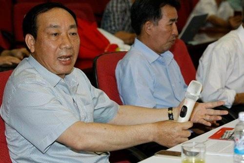 Thứ trưởng Bộ Giao thông Vận tải Nguyễn Hồng Trường (ảnh Tiền Phong)