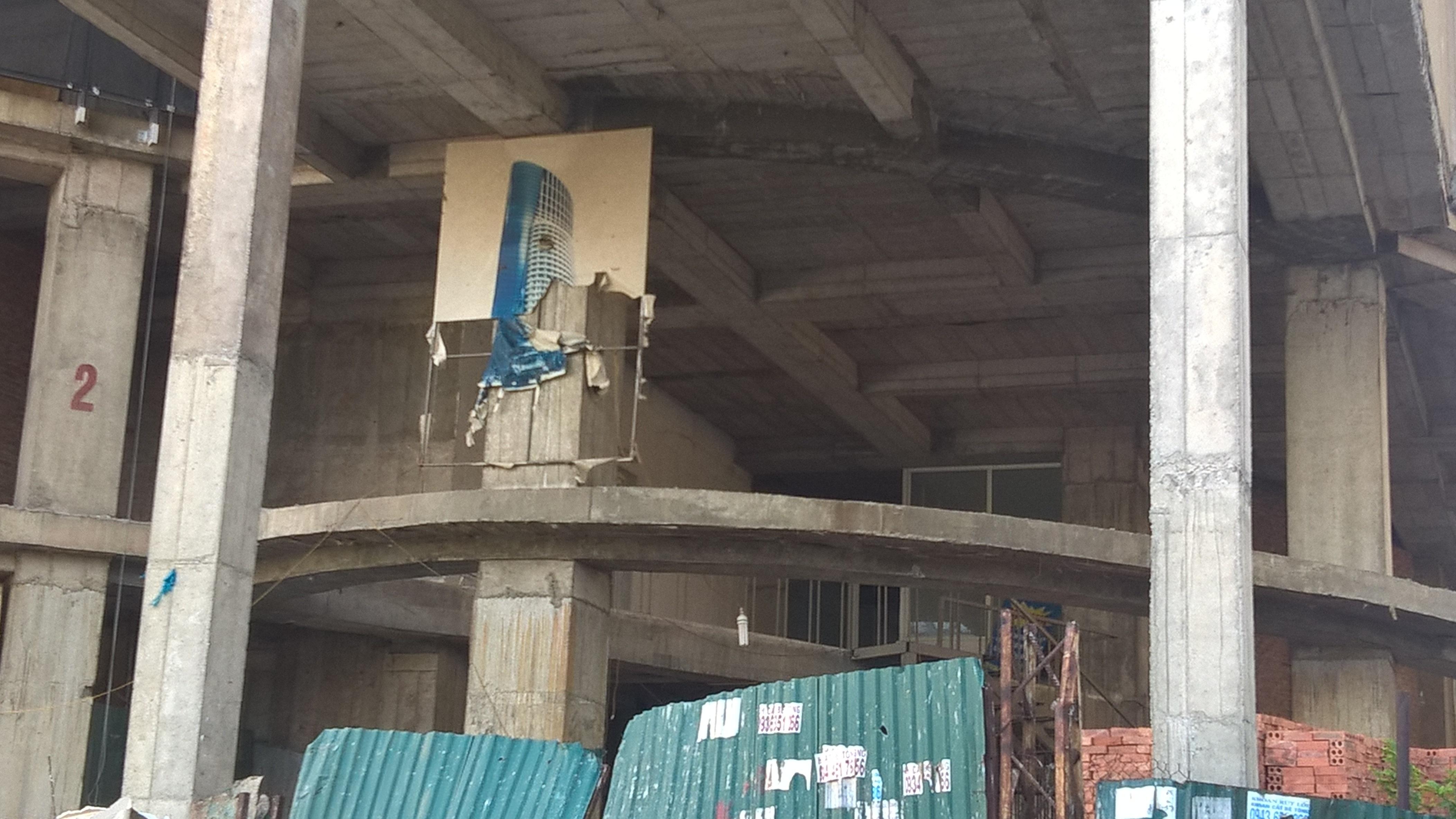 Dự án Ellipse Tower bị chậm tiến độ khá lâu khiến nhiều người dân mua nhà đang rất bức xúc