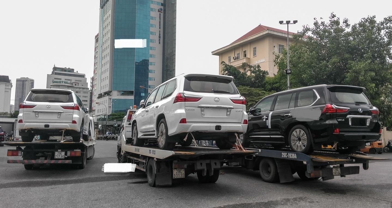 Xe sang vẫn về Việt Nam dù sau 1/7 dòng thuế đánh vào những dòng xe này tăng rất cao