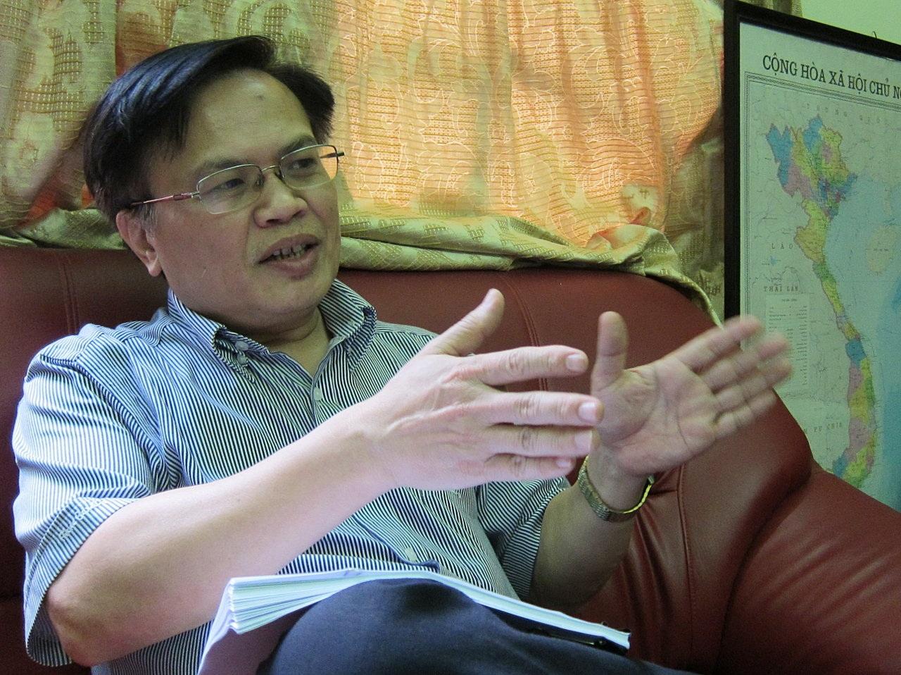 TS Nguyễn Đình Cung, Viện trưởng Viện Nghiên cứu Quản lý Kinh tế Trung ương (CIEM)