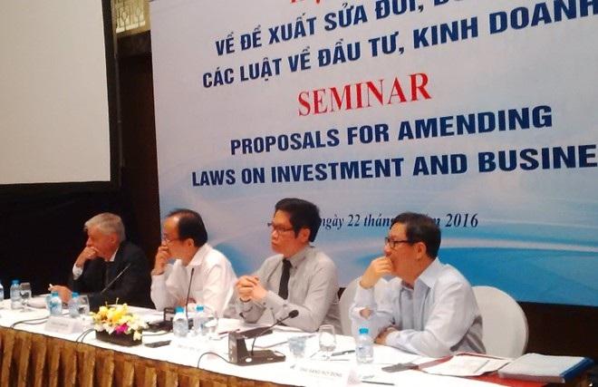 Chính phủ đang tăng tốc sửa đổi các luật liên quan đến Luật Đầu tư, Doanh nghiệp và đề nghị các DN tham gia góp ý để hoàn thiện hơn