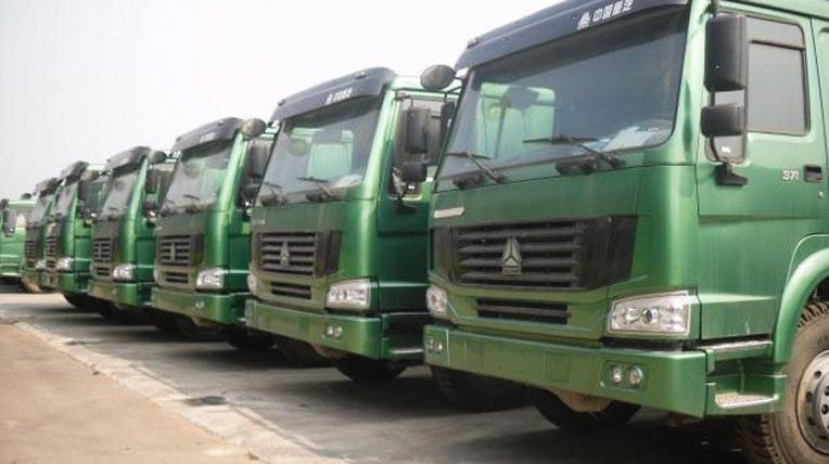Xe tải Trung Quốc dòng xe nhãn hiệu Howo (Hổ Vồ) được khai báo giá tại Hải quan rất thấp, trong khi giá thực tế chênh hàng vài trăm triệu.