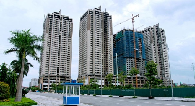 Mức giá trung bình các căn hộ tại Hà Nội theo khảo sát là 26,3 triệu đồng/căn