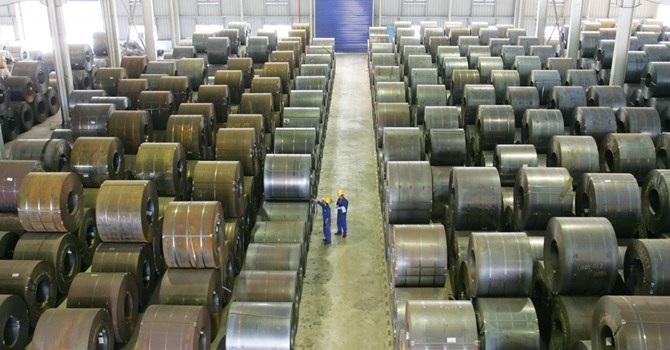 Thép Trung Quốc đang nhập vào Việt Nam ồ ạt với số lượng lớn