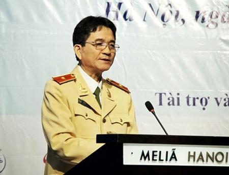 Thiếu tướng Trần Sơn Hà - Cục trưởng Cục CSGT