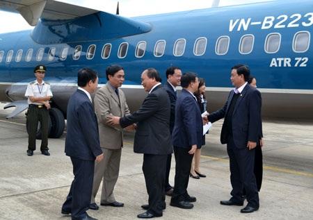 Phó Thủ tướng Nguyễn Xuân Phúc sau một chuyến bay lên Tây Bắccông tác