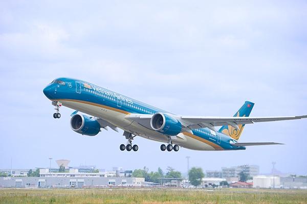 Máy bay Airbus 350 của Vietnam Airlines