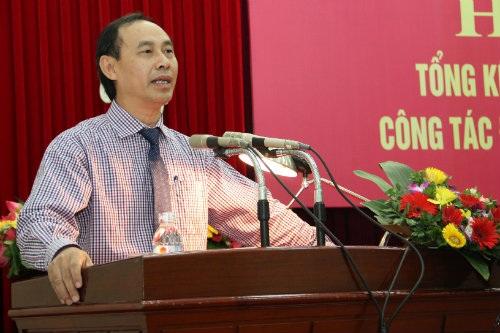 Thứ trưởng Bộ GTVT Lê Đình Thọ (ảnh: Cổng TTĐT Bộ GTVT)