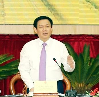 Phó Thủ tướng Vương Đình Huệ - Trưởng Ban Chỉ đạo Tây Nam Bộ chủ trì Hội nghị
