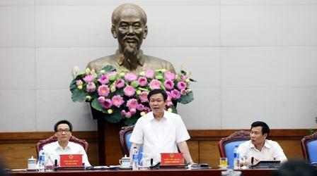 Phó Thủ tướng Vương Đình Huệ chủ trì cuộc họp về góp ý Đề án Định hướng phát triển ngành Du lịch Việt Nam trở thành ngành kinh tế mũi nhọn