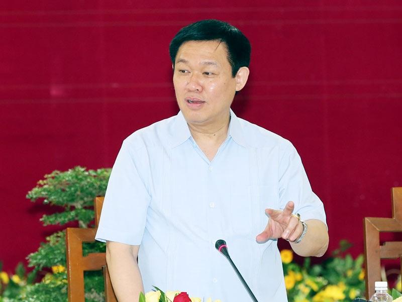 Ủy viên Bộ Chính trị, Phó Thủ tướng Vương Đình Huệ