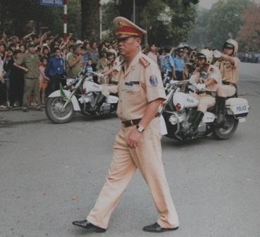 Trong Quốc tang Đại tướng Võ Nguyên Giáp, qua đánh giá tình hình giao thông thực tế Đại tá Đào Vịnh Thắng đã tham mưu và đề xuất phương án đưa linh cữu của Người qua lăng Hồ Chủ tịch