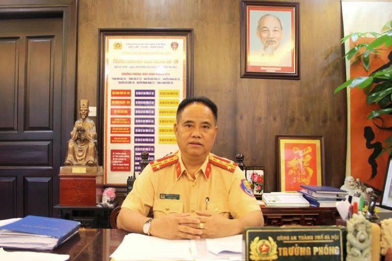 Đại tá Đào Vịnh Thắng - Trưởng phòng CSGT Hà Nội