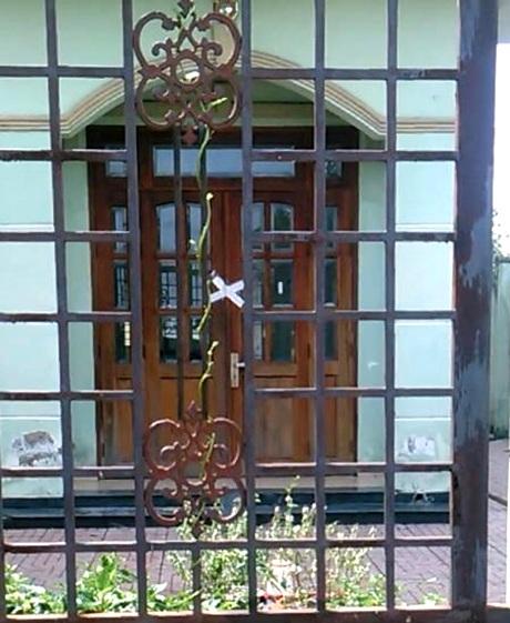 Bà Vân từng tố cáo Công an xã Bà Điểm lạm quyền khi tự niêm phong căn nhà của bà
