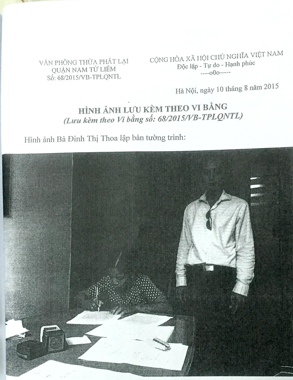 """Vợ """"tố"""" chồng cũ mang dao ép viết giấy nợ 2,5 tỷ: Gian nan hành trình tìm công lý! - 3"""