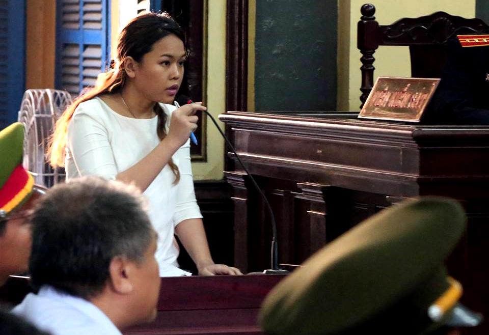 Bà Trần Ngọc Bích tại tòa