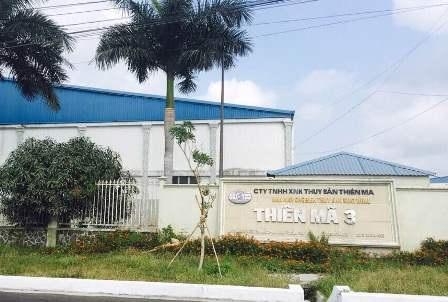 Trụ sở của Công ty Thiên Mã tại khu công nghiệp Trà Nóc - Cần Thơ